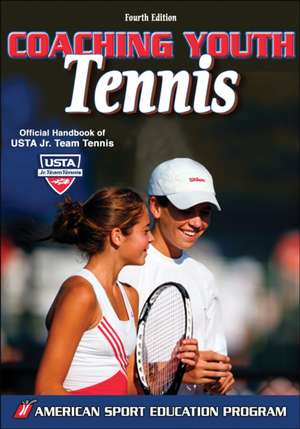 Coaching Youth Tennis - 4th Edition imagine