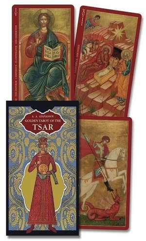 Golden Tarot of the Tsar [With Instruction Booklet] de Atanas Alexandrov Atanassov