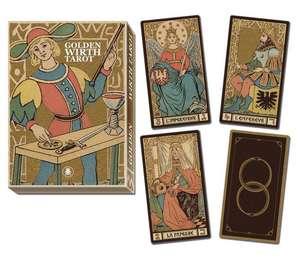 Golden Tarot of Wirth Grand Trumps de Lo Scarabeo