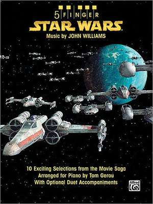 Star Wars: 10 Exciting Selections from the Movie Saga Arranged for Piano with Optional Duet Accompaniments de John Williams