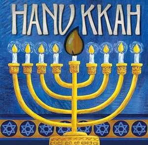 Hanukkah:  A Mini Animotion Book de Accord Publishing