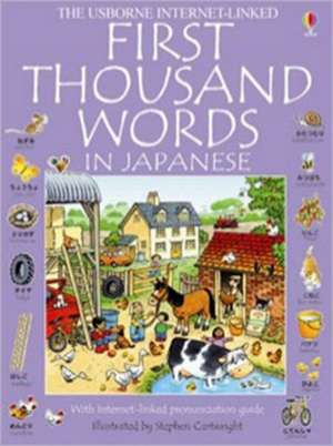 First 1000 Words: Japanese de Heather Amery