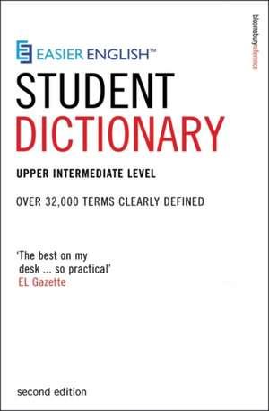 Easier English Student Dictionary de P. H. Collin