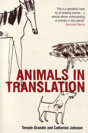 Animals in Translation imagine