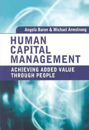 Human Capital Management de Angela Baron