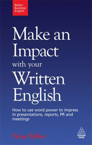 Make an Impact with Your Written English imagine