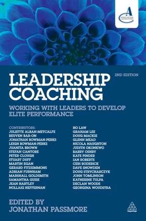 Leadership Coaching de Jonathan Passmore