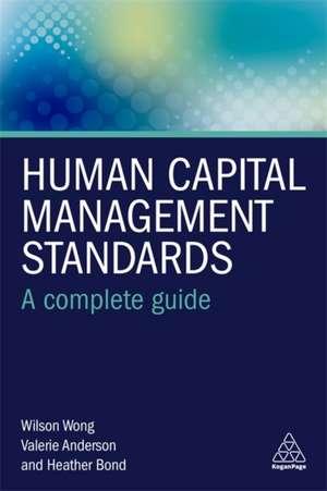 Human Capital Management Standards de Wilson Wong
