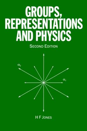 Groups, Representations and Physics imagine