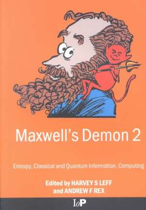 Maxwell's Demon 2 Entropy, Classical and Quantum Information, Computing imagine