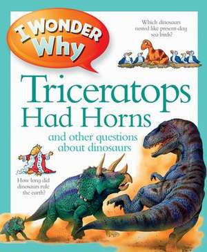 Kingfisher: I Wonder Why Triceratops Had Horns
