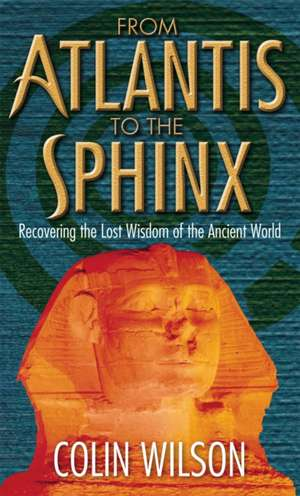 From Atlantis To The Sphinx imagine