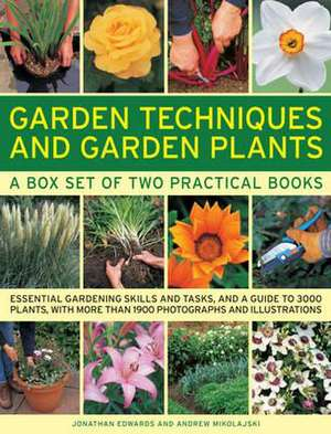 Garden Techniques and Garden Plants Boxed Set:  25 Step-By-Step Practical Ideas for Hand-Crafted Tin Projects de Jonathan Edwards