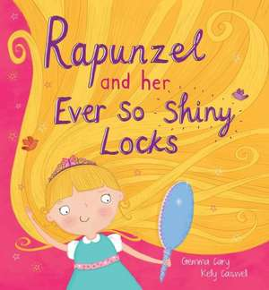 Square Cased Fairy Tale Book - Rapunzel and Her Ever So Shiney Locks