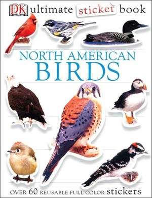 North American Birds [With Stickers]