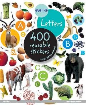 Eyelike Stickers, Letters de Workman Publishing