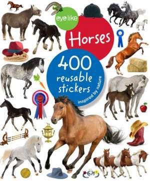Eyelike Stickers:  Horses de Workman Publishing