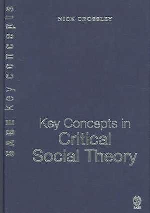 Key Concepts in Critical Social Theory de Nick Crossley