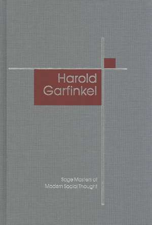 Harold Garfinkel de Michael Lynch