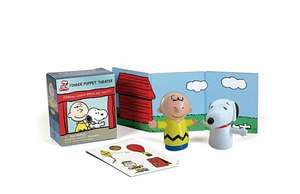 Peanuts Finger Puppet Theater: Starring Charlie Brown and Snoopy! de Running Press