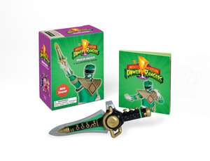 Mighty Morphin Power Rangers Dragon Dagger and Sticker Book: With Sound! de Running Press