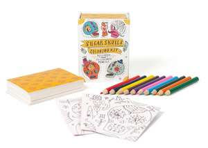 Sugar Skulls Coloring Kit