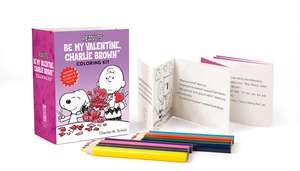 Peanuts: Be My Valentine, Charlie Brown Coloring Kit de Charles M. Schulz