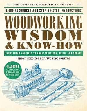 Cartea Woodworking Wisdom Amp Know How Wisdom Amp Know How