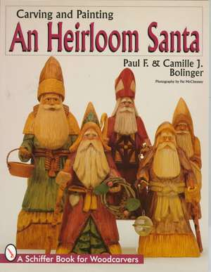 Carving & Painting An Heirloom Santa imagine