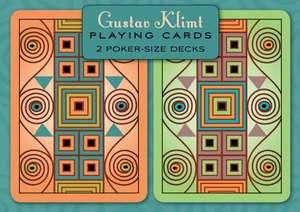 Gustav Klimt Poker Playing Cards