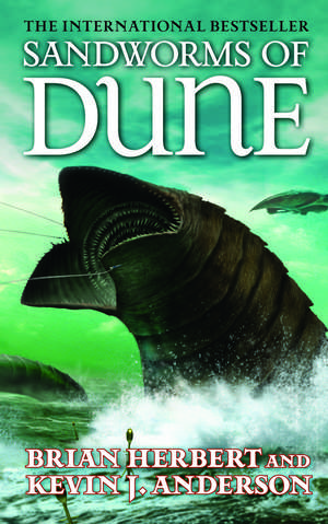 Sandworms of Dune de Brian Herbert