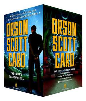 The Ender's Shadow Series Box Set de Orson Scott Card