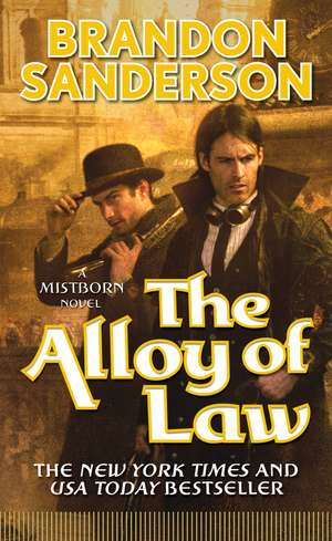 The Alloy of Law de Brandon Sanderson