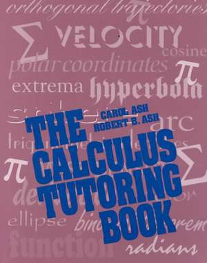 The Calculus Tutoring Book imagine