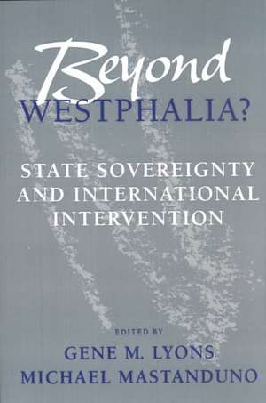 Beyond Westphalia? de Lyons