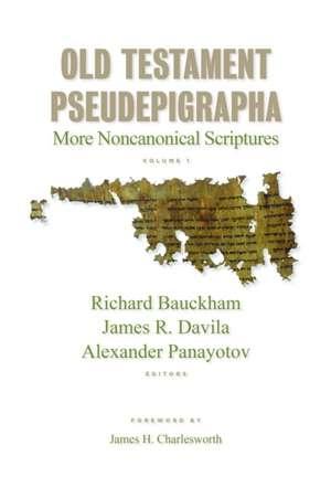 Old Testament Pseudepigrapha, Volume 1 imagine