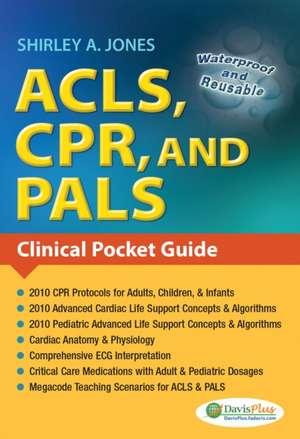 ACLS, CPR, and PALS de Shirley AMS Ed Jones
