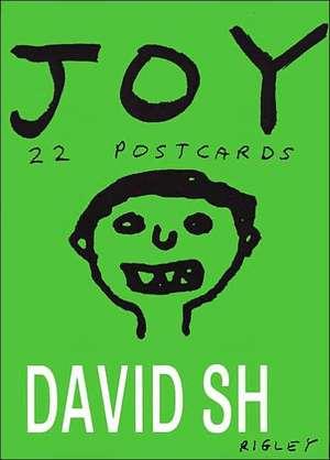 Joy: 22 Postcards de  David Shrigley