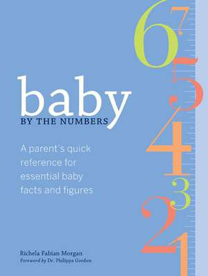 Baby by the Numbers: Parents' Essential Reference to Baby's Health and Development de  Richela Fabian Morgan
