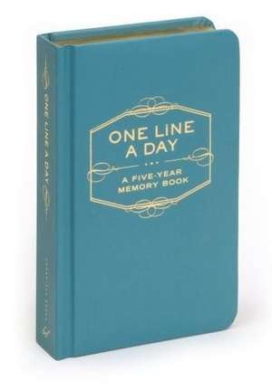 One Line a Day de Chronicle Books