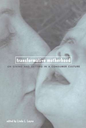 Transformative Motherhood:  On Giving and Getting in a Consumer Culture de Linda L. Layne