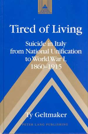 Tired of Living de Ty Geltmaker