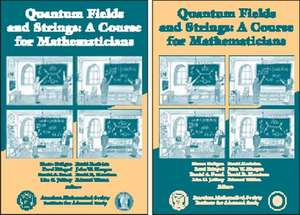 Quantum Fields and Strings: A Course for Mathematicians imagine