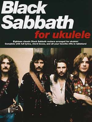 Black Sabbath for Ukulele de Sabbath Black