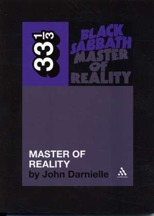 Black Sabbath's Master of Reality imagine