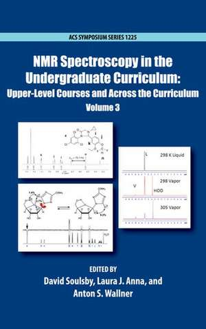 NMR Spectroscopy in the Undergraduate Curriculum imagine