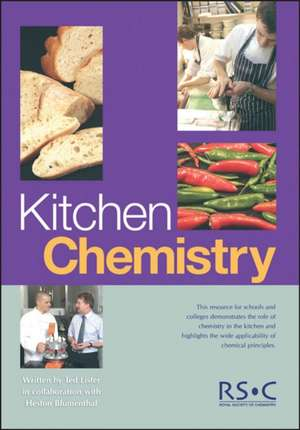 Kitchen Chemistry [With CDROM]:  Rsc de Ted Lister
