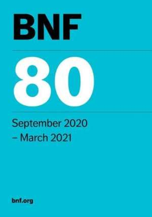 BNF 80 (British National Formulary) September 2020 imagine