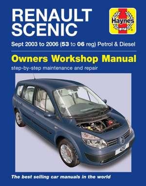 Renault Scenic de  Haynes Publishing