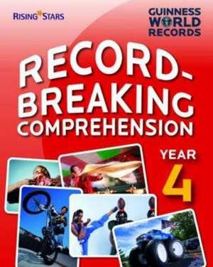 Guinness World Records: Record Breaking Comprehension Red Bo de Guinness World Records